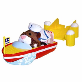 Zhu Zhu Pets Boat And Dock