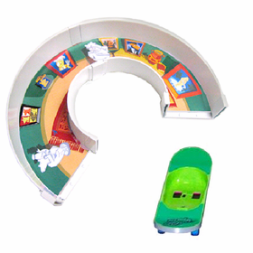Zhu Zhu Pets U-turn With Skateboard
