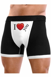 I Heart You - Mens Boxer Brief