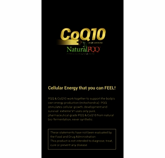 CoQ10 QQ™ plus Natural PQQ