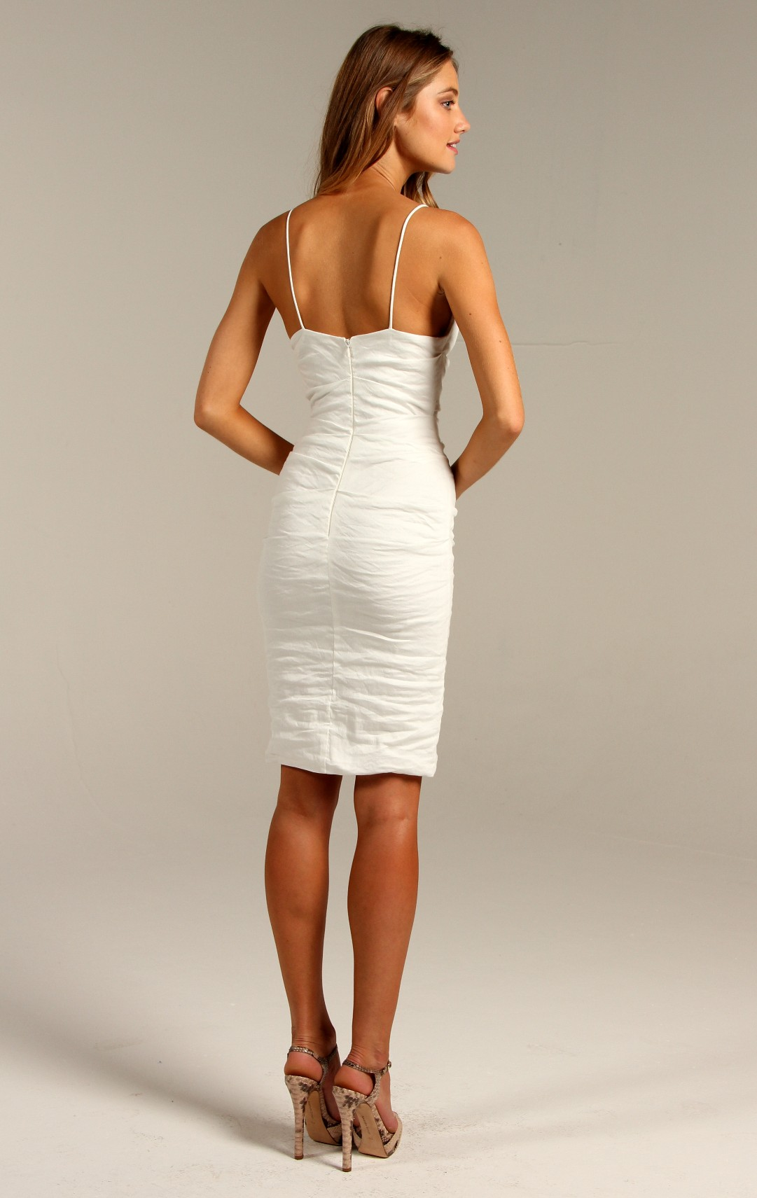 outlet on sale enjoy discount price Discover White Night Dress by <I>Nicole Miller</I>