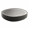 Alessi Birillo Dark Grey Soap Dish