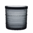 iittala Kastehelmi Large Grey Jar