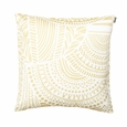 Marimekko Vuorilaakso White / Gold Throw Pillow