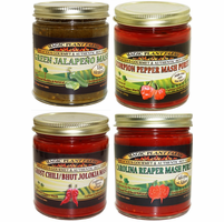 Aged Chili Pepper Mash in 9 oz. Jars
