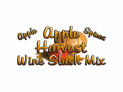 Apple Harvest Wine Slush Mix, Single Recipe Package