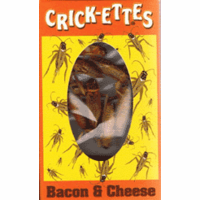 Bacon & Cheese Flavored Crickettes