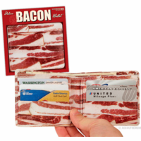 Bacon Wallet in a Display Box
