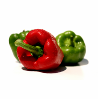 Bell Peppers, Dried