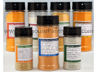 Best-Selling Popcorn Seasoning Sampler (7 Varieties)