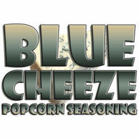 Blue Cheeze Popcorn Seasoning in a Large Spice Jar (3.53 oz.)