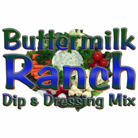 Buttermilk Ranch Dip & Dressing Mix, Case of 24 Packets