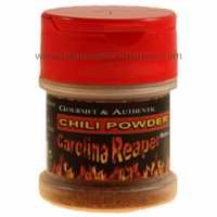 Carolina Reaper Chili Pepper Powder in a Small Spice Jar (14g)