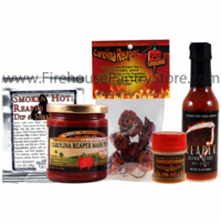Carolina Reaper Sampler Pack (5 Varieties) + FIREHOUSE FREEBIE