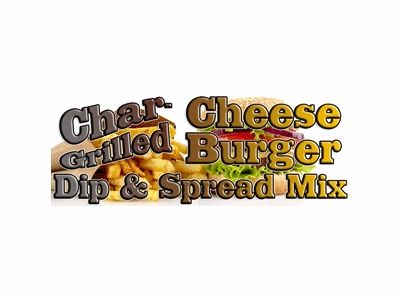 Char-Grilled Cheeseburger Dip & Spread Mix, 1 Pound Pantry Bag