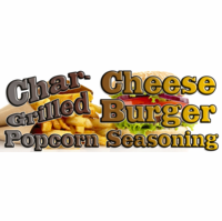 Char-Grilled Cheeseburger Popcorn Seasoning, 10 Pound Bulk Bag