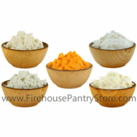 Cheese Powder Sampler - 5 Varieties - 1 Pound Bulk Bag Each