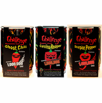 Chili Pepper Magic Plant Growing Kit Sampler Pack (3 Varieties)