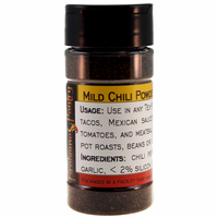 Chili Powder, Mild, in a Spice Jar (2.29 oz.)