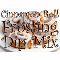 Cinnamon Roll Frosting Dip & Spread Mix, Single Recipe Package