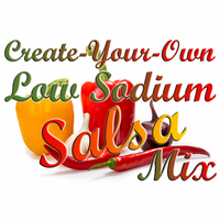 Create-Your-Own Low Sodium Salsa Mix, 5 Pound Bulk Bag