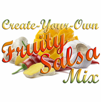 Create-Your-Own Sweet Heat Fruity Salsa Mix, 5 Pound Bulk Bag
