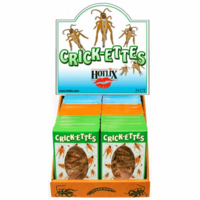 "Crickettes ""Original Cricket Snax"" - Case of 24 - Assorted Flavors"