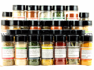 Deluxe Kitchen Staples Spice Sampler (30 Varieties)