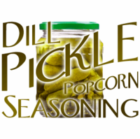 Dill Pickle Popcorn Seasoning in a Spice Jar (2.47 oz.)