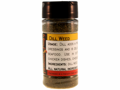 Dill Weed in a Spice Jar (0.88 oz.)