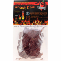 Dried Ghost Peppers (Bhut Jolokia Chili) 1/2 oz. Packet