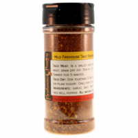 Firehouse Taco Seasoning (Mild) in a Large Spice Jar (5.29 oz.)
