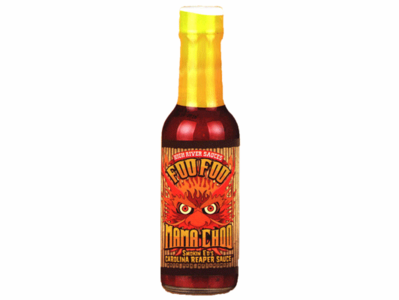 Foo Foo Mama Choo Hot Sauce (with Reaper & Roasted Red Peppers)