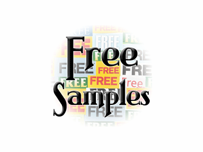 Free Samples with Purchase