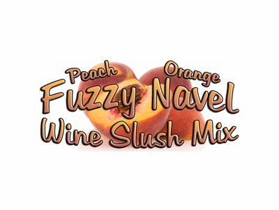 Fuzzy Navel Champagne & Wine Slush Mix, 10 Pound Bulk Bag
