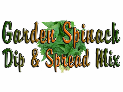 Garden Spinach Dip & Spread Mix, 1 Packet