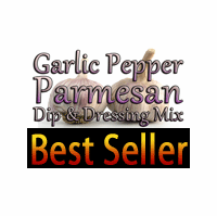 Garlic Pepper Parmesan Dip & Dressing Mix, 1 Packet