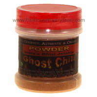 Ghost Pepper (Bhut Jolokia) Ground Chili Pepper Powder in a Small Spice Jar (14g)