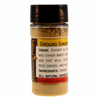 Ginger Root, Ground, in a Spice Jar (1.59 oz.)