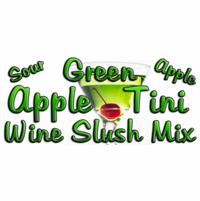 Green Appletini Wine Slush Mix