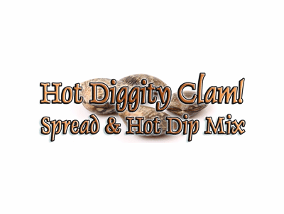 Hot Diggity Clam Dip & Spread Mix, 1 Packet