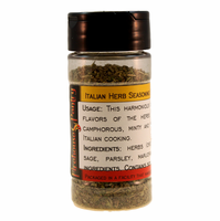 Italian Herb Blend (Italian Seasoning) in a Spice Jar  (0.88 oz.)