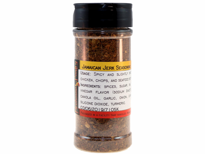 Jamaican Jerk Seasoning in a Large Spice Jar (4.06 oz.)