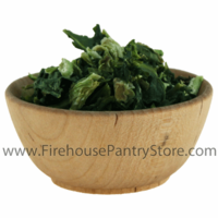 Kale Flakes, Dried, 1 Pound Bulk Bag