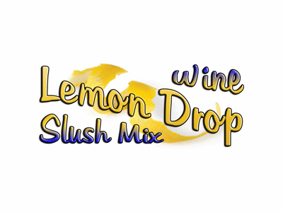 Lemon Drop Wine Slush Mix, Single Recipe Package