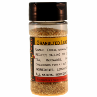 Lemon Zest, Dried, Granulated, in a Spice Jar (2.12 oz.)
