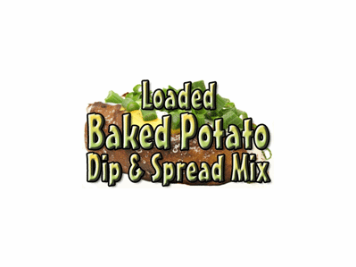 Loaded Baked Potato Dip & Spread Mix, 1 Pound Pantry Bag
