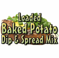 Loaded Baked Potato Dip & Spread Mix, 5 Pound Bulk Bag