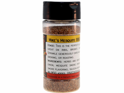 Mike's Mesquite BBQ Rub in a Spice Jar (3.17 oz.)