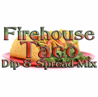 Mild Firehouse Taco Dip Mix, 1 Pound Pantry Bag